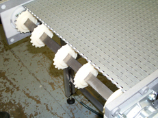 Quick access belt conveyor