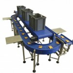 360 degree carousel and horizontal conveyor