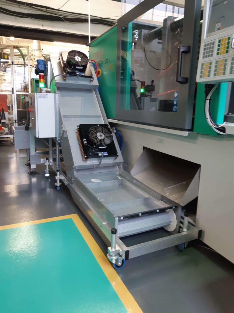 Bespoke Conveyor System for W.E. Amies & Co Ltd
