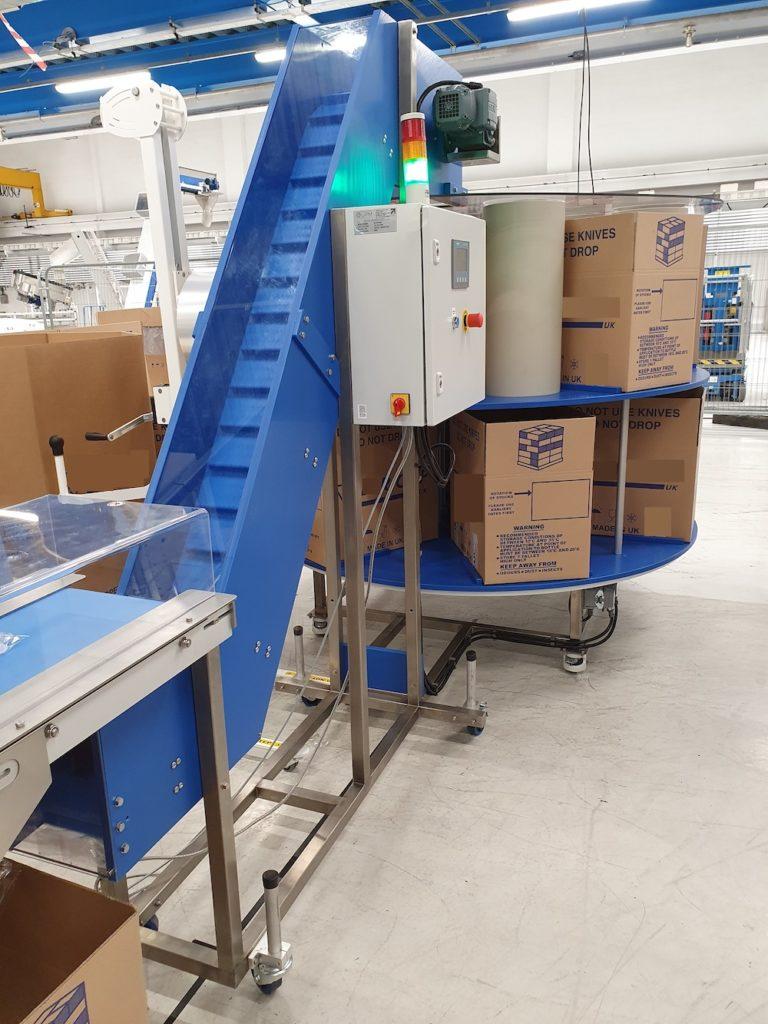 High Speed End Of Line Conveyor
